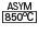 850º ASYM