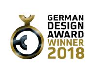 German Design Award 2018 – Ceremonia para recibir el premio