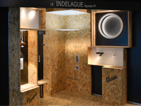 Groupe Indelague au salon Architect@Work Madrid et Copenhague