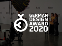 GERMAN DESIGN AWARD 2020 – CEREMONIA PARA RECIBIR EL PREMIO