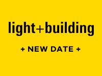 LIGHT + BUILDING NEW DATE