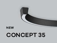 Nouvelle gamme CONCEPT 35