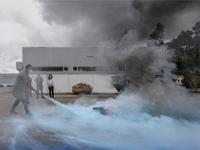 Groupe INDELAGUE realize une formation de prévention et lutte contre les incendies.