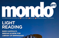 ROXO LIGHTING in magazine MONDO ARC (December / January)