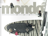 ROXO LIGHTING in magazine MONDO ARC (February / March)