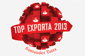 Indelague was recognized as Top Exports in 2013