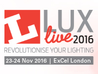 LuxLive 2016 | Lighting Event